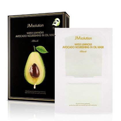 Маска для лица JM Solution Water Luminous Avocado Nourishing In Oil Mask