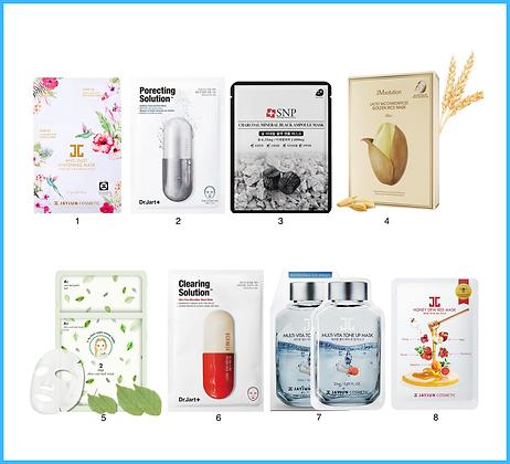 Набор масок №10 для эффективного очищения кожи (Set 2)