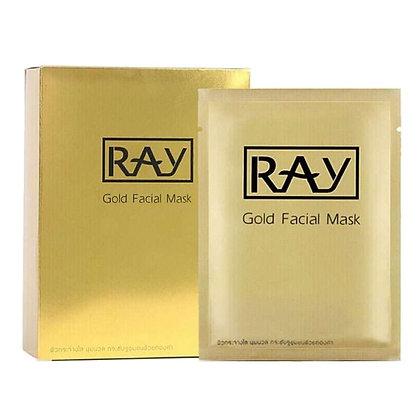 Маска для лица RAY Gold Facial Mask омолаживающая
