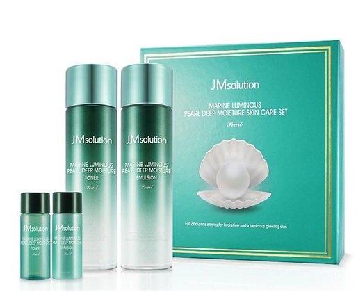 Набор JM Solution Marine Luminous Pearl Moisture Skin Care Set (Тоник+Эмульсия)