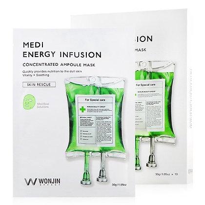 Маска для лица Wonjin Effect MEDI Energy Infusion