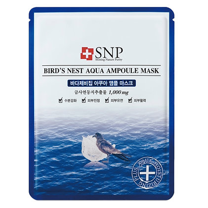 Маска для лица SNP Bird's Nest Aqua Ampoule Mask