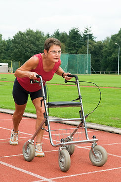 lady on track with walker purchased.jpg
