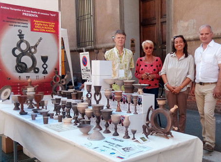 Фестиваль керамики Argilla-2016(2–4 сетября, Фаэнца (Faenza), Италия).