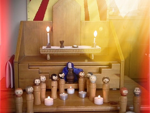 Pentecost (Ages 3-6): Never Alone