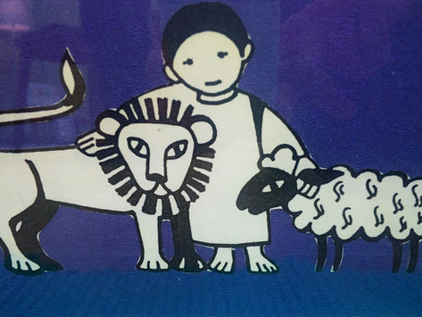 1st Sunday of Lent (Ages 3-6): Wild with God