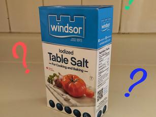 Salt and saltiness