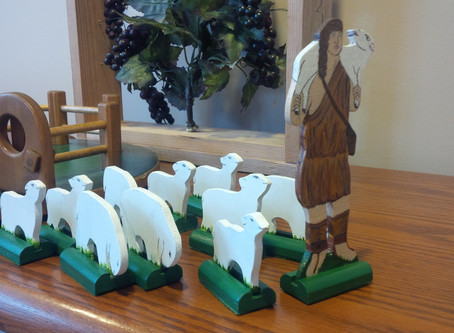 Ascension Sunday (Ages 3-6): Disciples