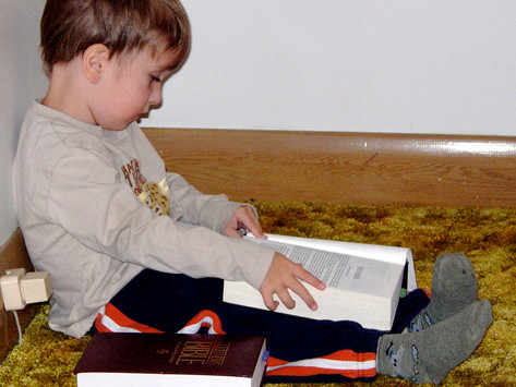 5th Sunday in Ordinary Time (Ages 3-6): Private Time With God