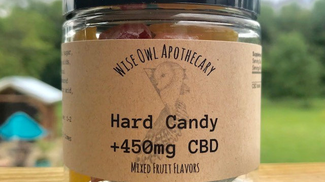 Hard Candy Mixed Fruit and Coffee Flavors