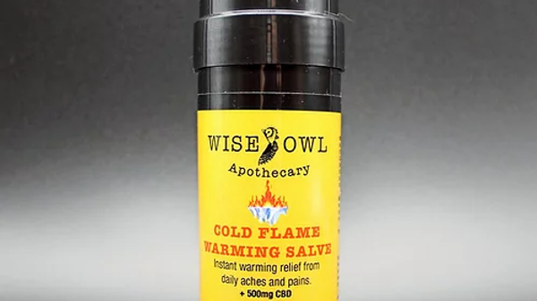 Cold Flame Warming Salve