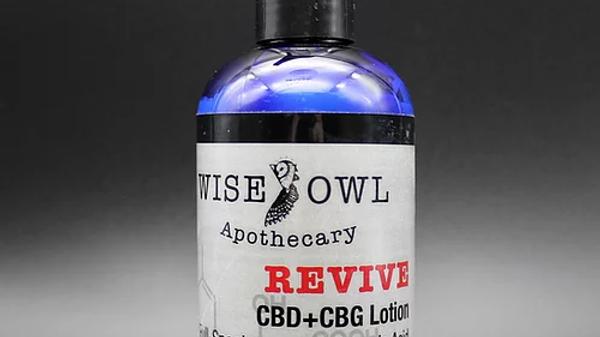 Revive CBD+CBG Body Lotion