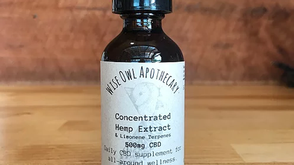 Concentrated Hemp Extract