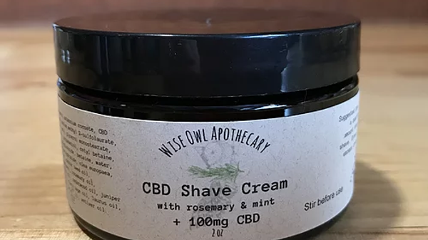 Rosemary and Mint Shave Cream