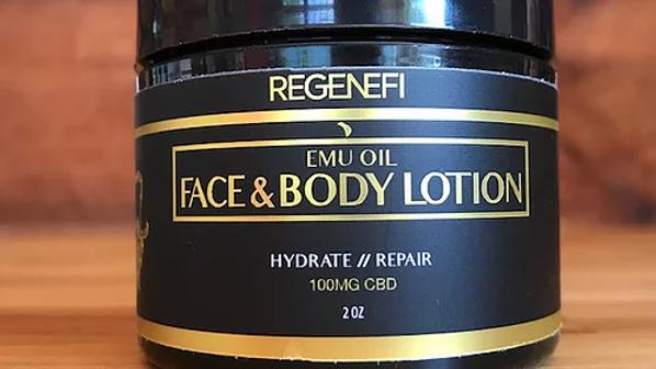 Emu Oil Face& Body Lotion