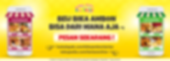 banner toko online larizo di bukalapak dan tokopedia