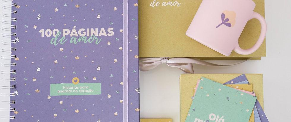 Pacote de Amor: Álbum Bebê + Cards Acompanhamento + Bloquinho da Rotina + Caneca