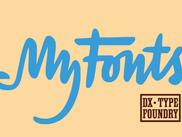 Шрифты проекта в магазине MyFonts.
