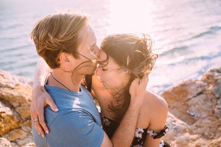 James + Sasha Engagement//Point Dume, Malibu
