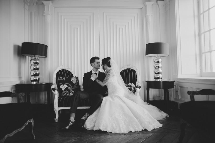 Romantic Culver Hotel Wedding
