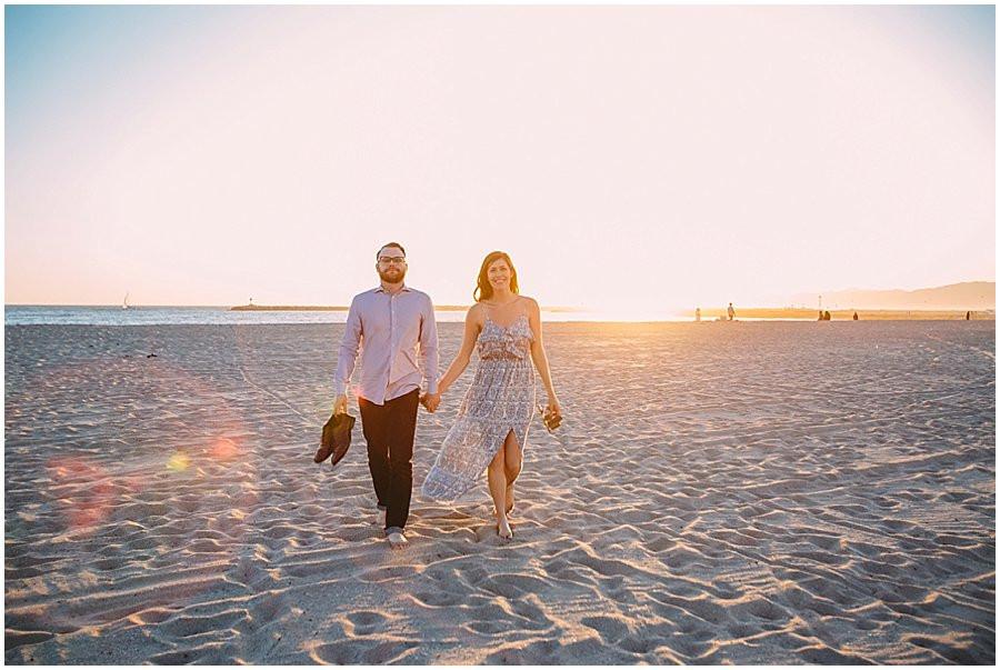 Wes + Brittany// Playa Del Rey Engagement