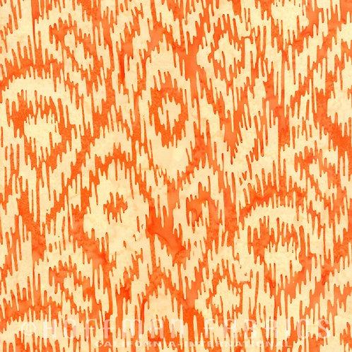 Hoffman Batik Tangerine 2719-152