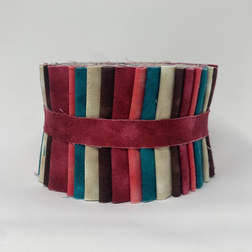 """Multi Color Cloud Jelly Roll - 18 2.5"""" strips"""