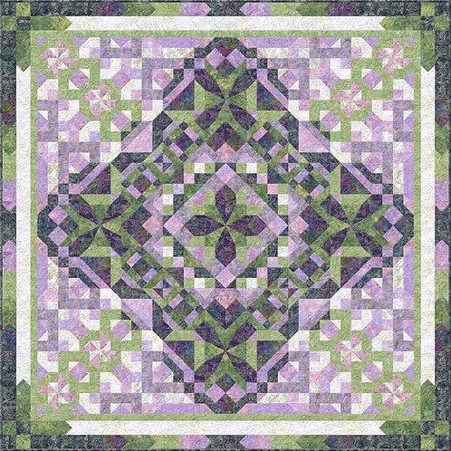 Jade Garden Block of the Month by Wilmington Prints