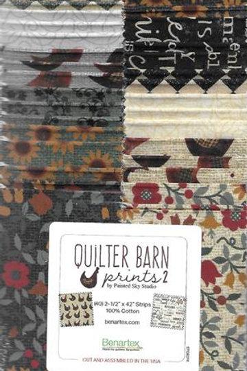Benartex Strippie, Quilter's Barn Prints2 40ct
