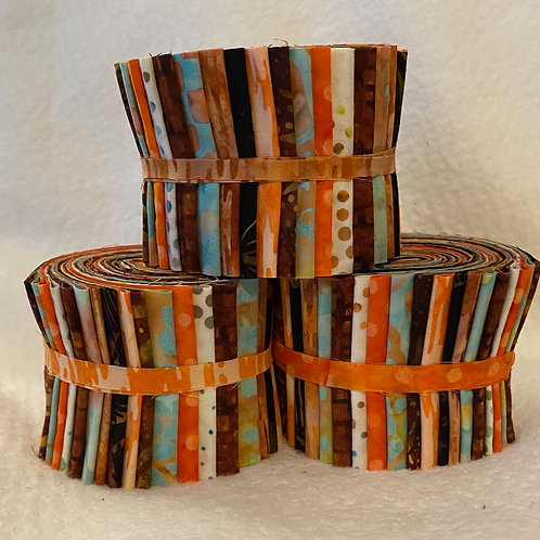 Hoffman Batik Jelly Roll - 18 Strips