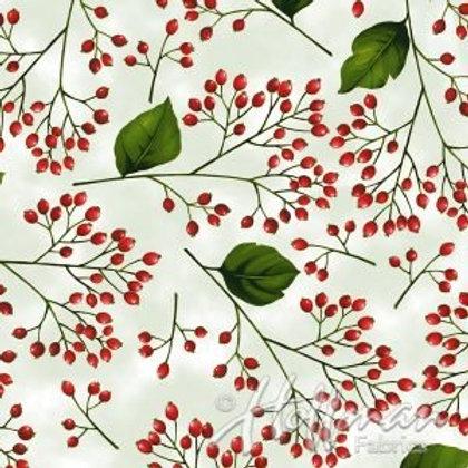 Hoffman Christmas Poinsettia Song - Gold
