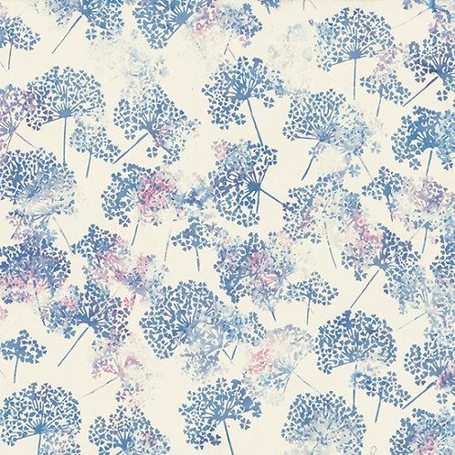 Hoffman Bali Batik Dandelion Cotton Candy