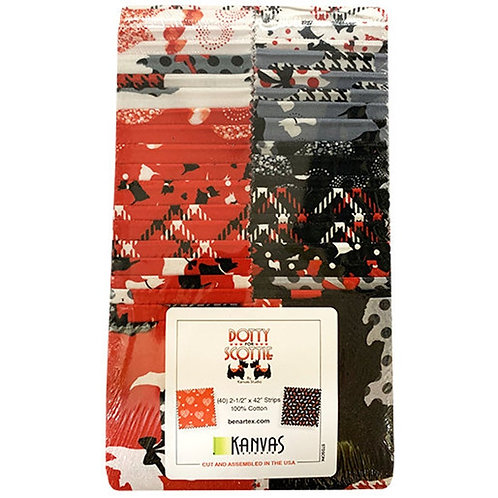 Dotty for Scotty Jelly Roll by Kanvas Studio/Benartex