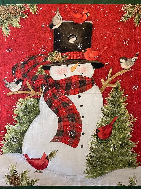 "Snowman Panel 36"""