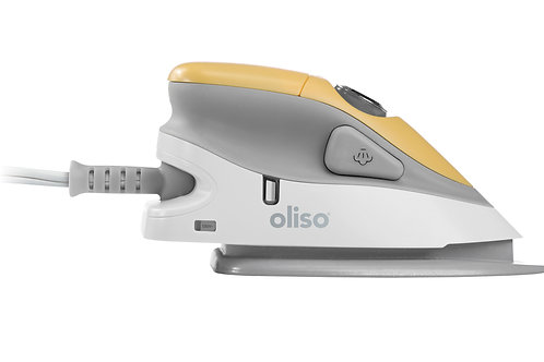 Oliso Mini Iron Yellow with Trivet