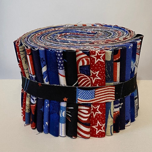 Patriotic - Red White and Blue Jelly Roll