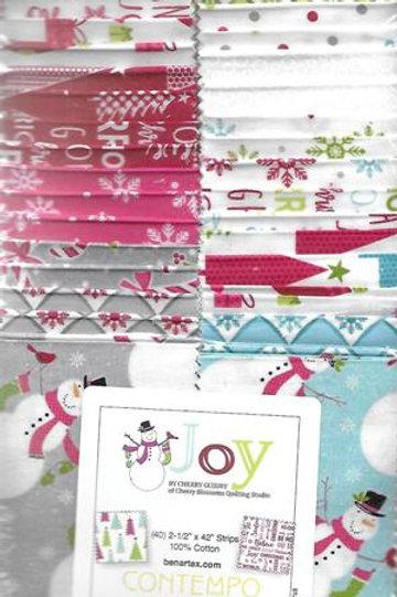 Joy Strip-pies by Contempo Studio for Benartex Fabrics