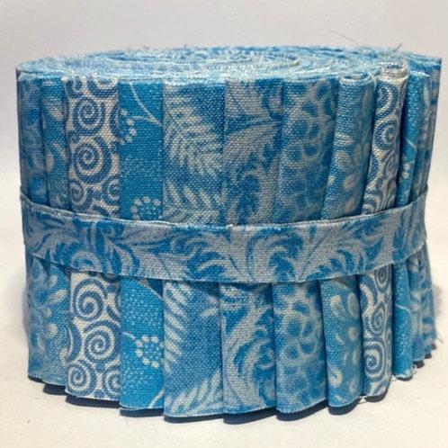 Light Blue Jelly Roll 18 Strips