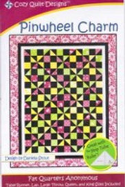 Pinwheel Charm - Cozy Quilt Designs Pattern