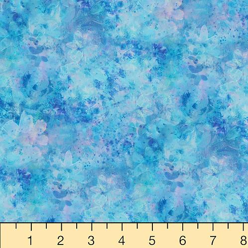 P&B Textiles Bohemia Digital Blue