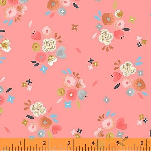 Windham Fabrics Kenzie Baby Bouquets Rose