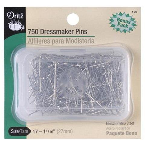 Dritz Dressmaker Pins - 750 Count