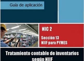 Inventarios:  NIC 2 (Grandes empresas) - SECCIÓN 13 NIIF PYMES