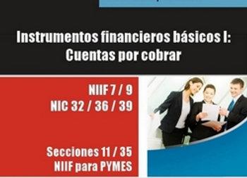 Instrumentos financieros básicos: cuentas a cobrar comerciales y no comerciales