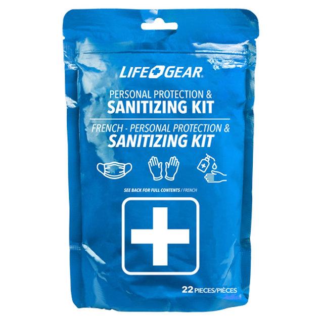 Personal Protection & Sanitising Kit