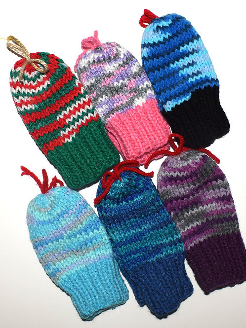 Children's Mittens w/o Thumbs - 5 Inches