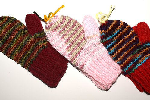 Mittens w/ Thumbs - 7 Inch