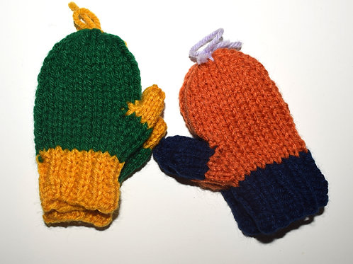 Team Mittens w/ thumbs (Various Sizes)