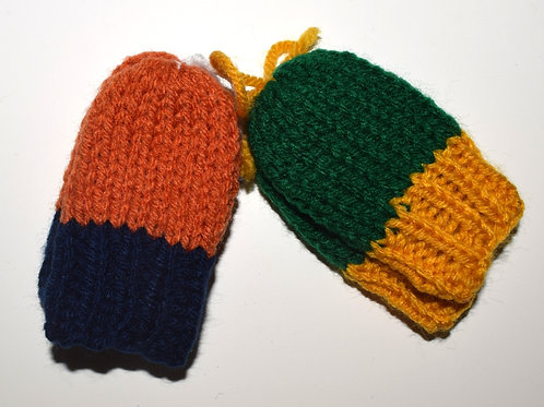 Team Mittens w/o thumbs (Various Sizes)