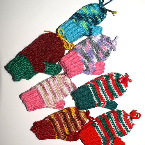 Toddler Mittens w/ Thumbs - 4 Inches
